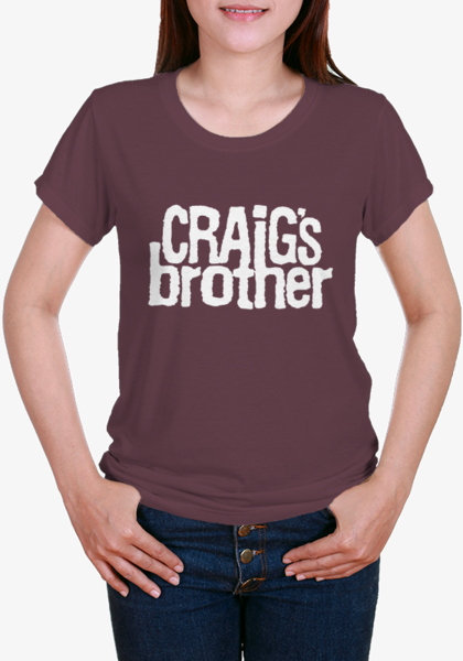 Craig's Brother Logo Girl's T-Shirt