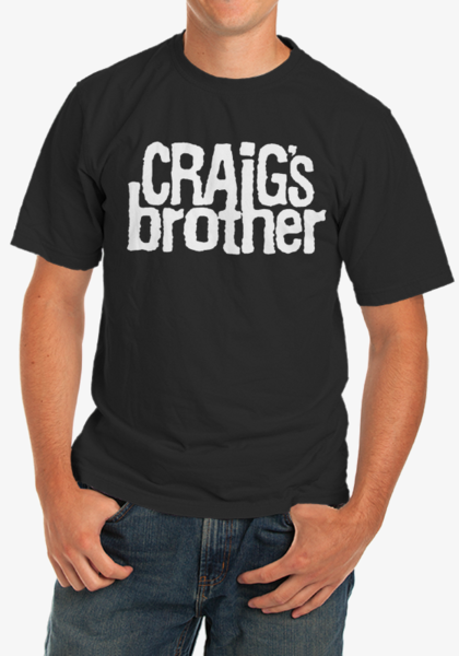 Craig's Brother Logo T-Shirt