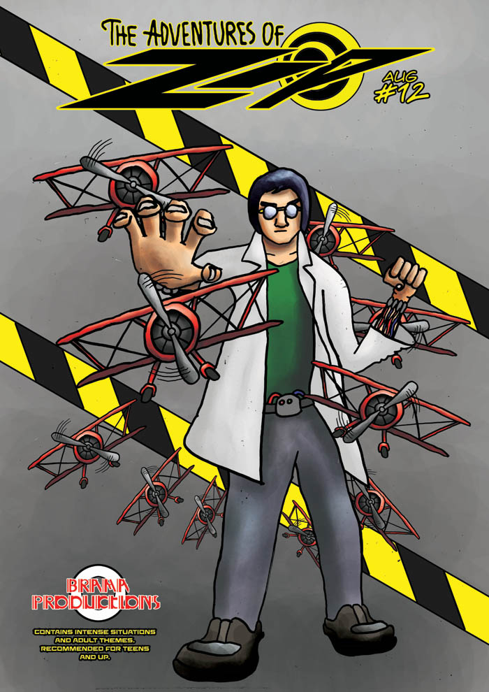 The Adventures of Zip: Issue 12, Cover