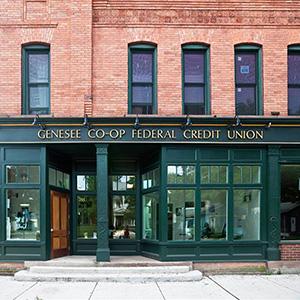 Genesee Co-Op Bank Storefront