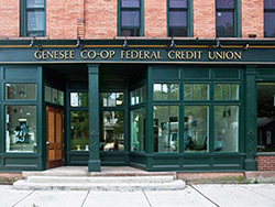 Genesee Co-Op Bank Storefront