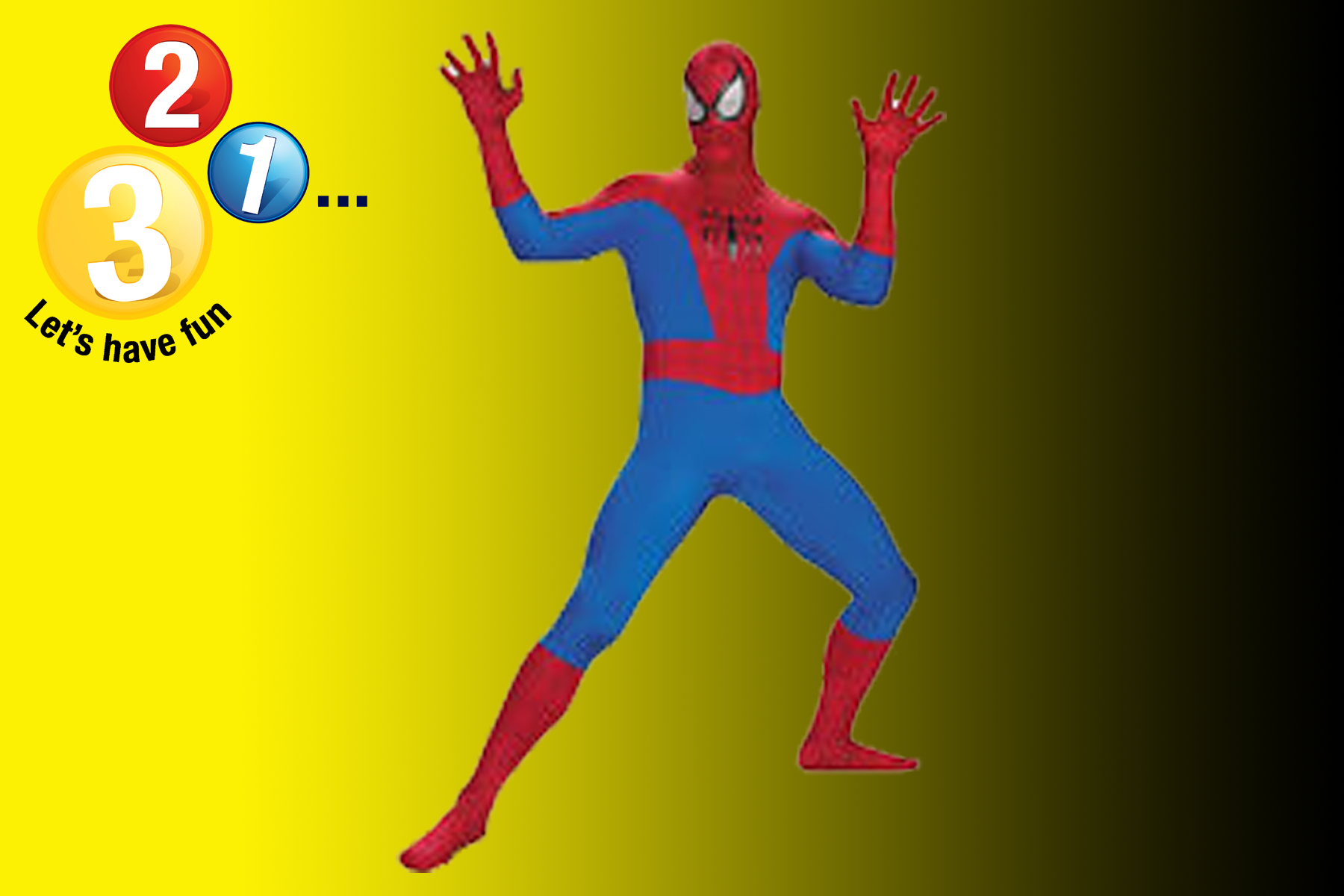 Spiderman Character Appearance Warwickshire