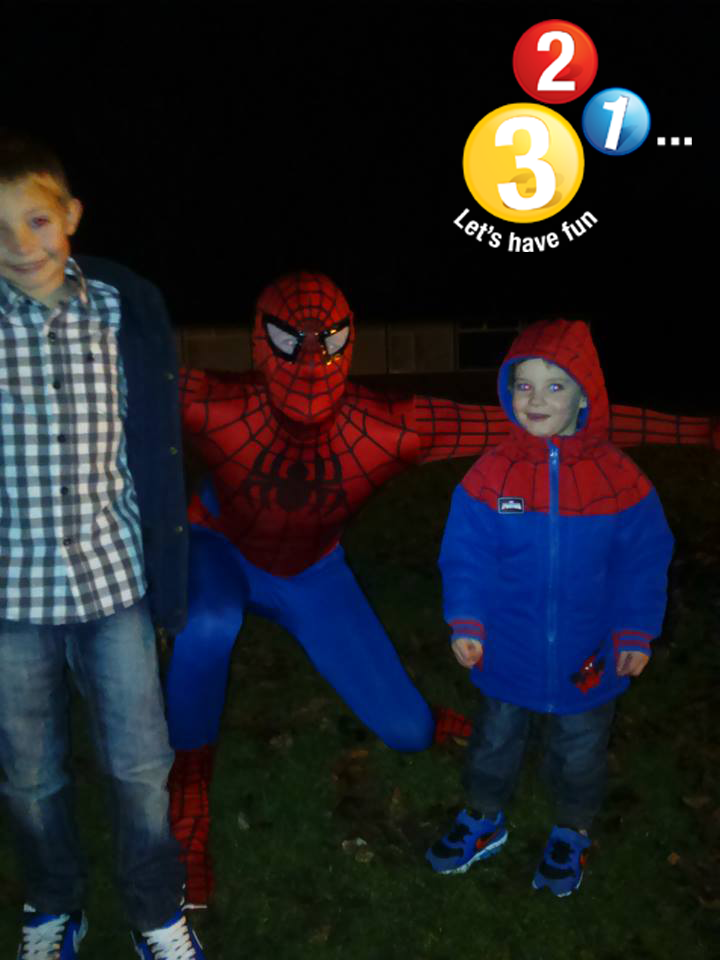Spiderman Character Appearance Warwickshire and Oxfordshire