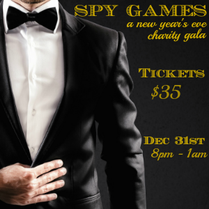 Spy Games: A Formal New Year's Eve Gala