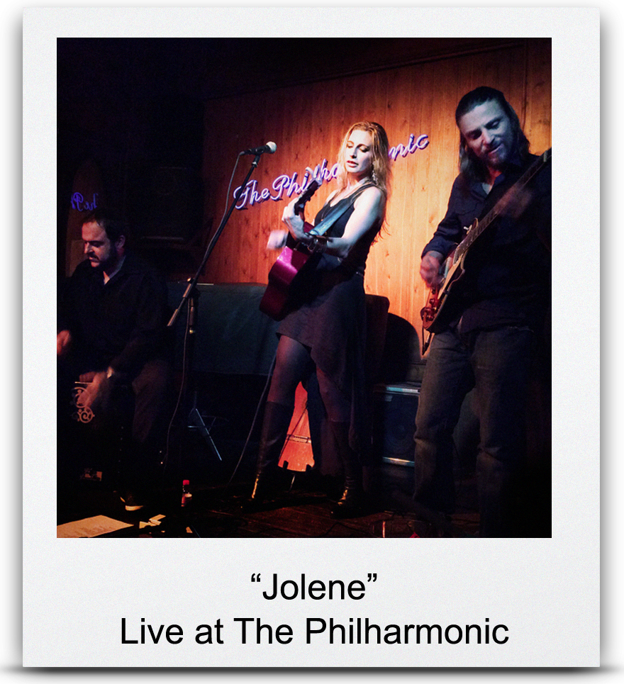 &#8220 Jolene &#8221 Live at The Philharmonic