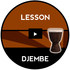 Djembe Accompaniments- LESSON