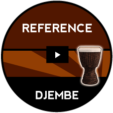 Djembe Call and Response Intermediate 6/8 or triplet