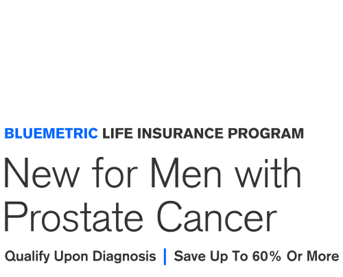 prostate cancer life insurance
