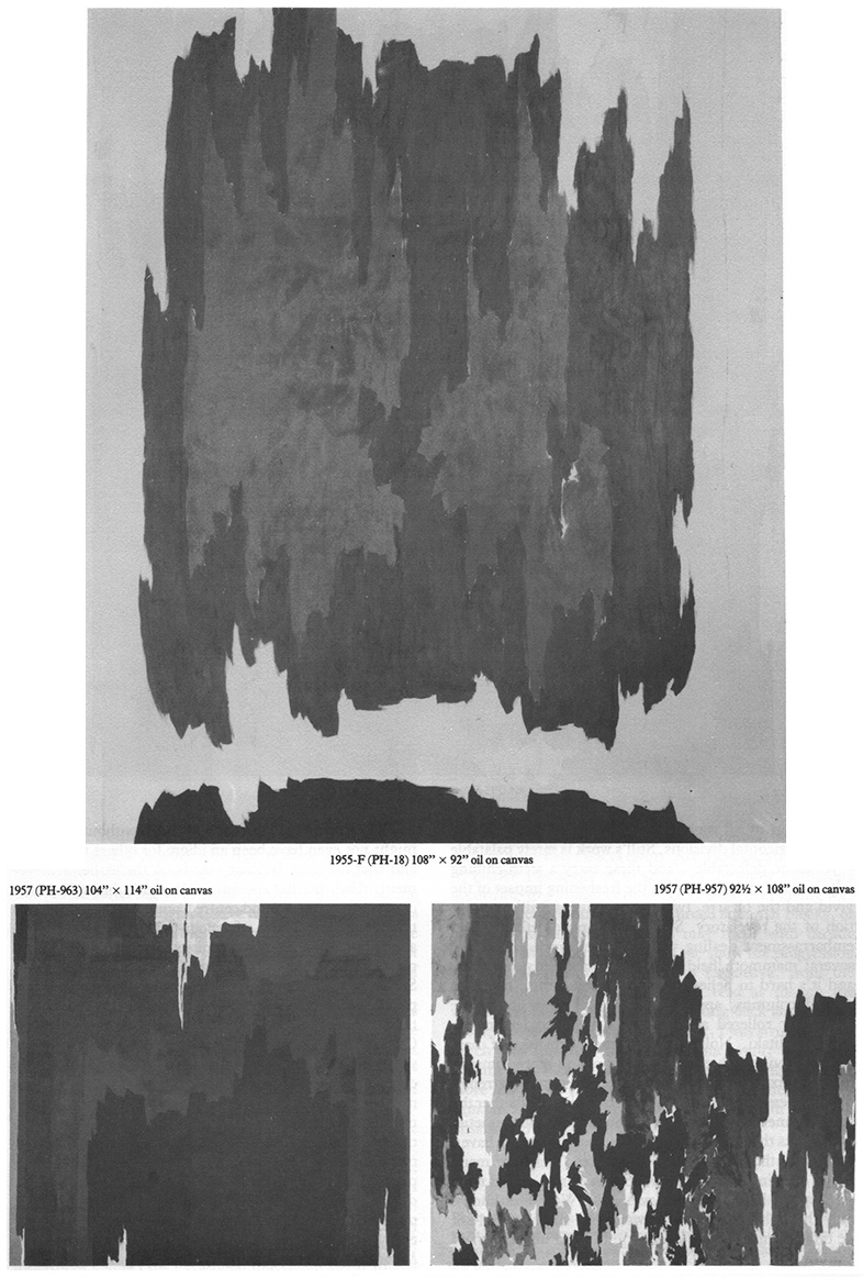 James Faure Walker , Clyfford Still Article Page 4, Artscribe 23