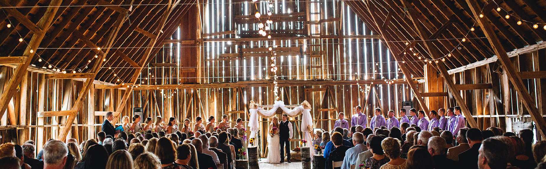 Charlevoix wedding venue Shanahan's Barn