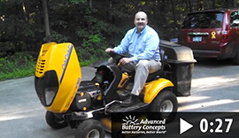 Greenseal® Battery In Ceo's Lawn Mower