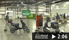 Installing A  Greenseal® Battery Vs The Competition In An Electric Bike