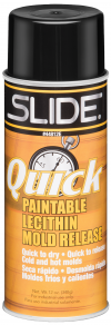 Slide Quick Lecithin Mold Release Spray