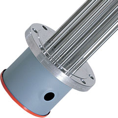 Watlow WATROD™ & FIREBAR®  ANSI Flange Immersion Heaters