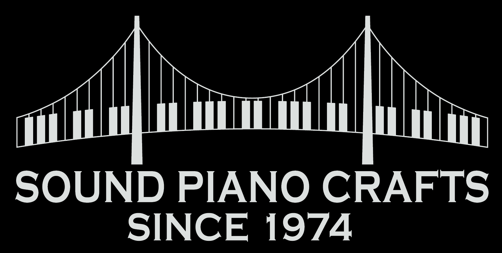 Registered piano tuner technician with the Piano Technicians Guild, Sound Piano Crafts since 1974