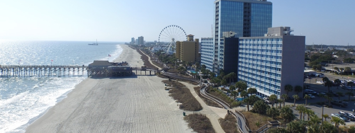 Aerial Boardwalk Skywheel 4th Outfall