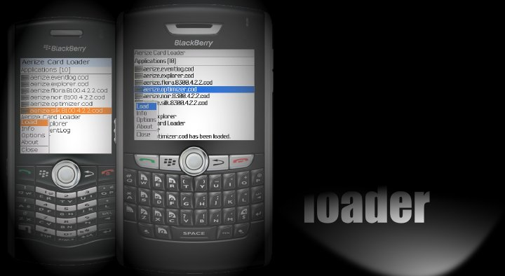 Aerize Card Loader for BlackBerry Pearl