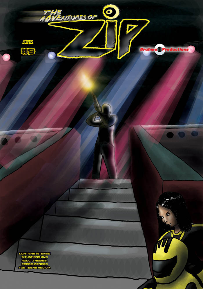 The Adventures of Zip: Issue 9, Cover