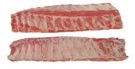 Pork Back Ribs Miss-Cuts 31lb