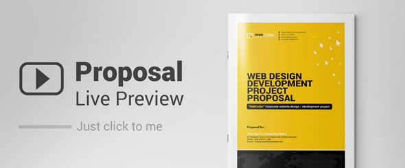 Web Proposal for Web Design & Development Agency