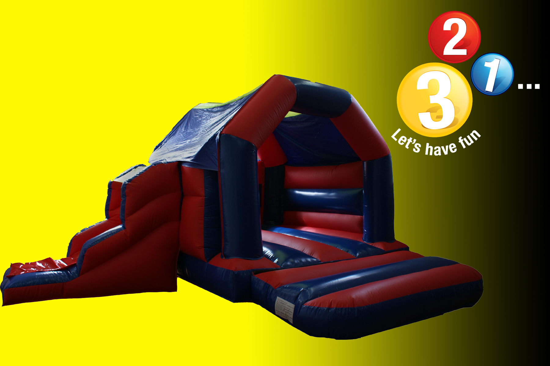 Bouncy castle hire Warwickshire
