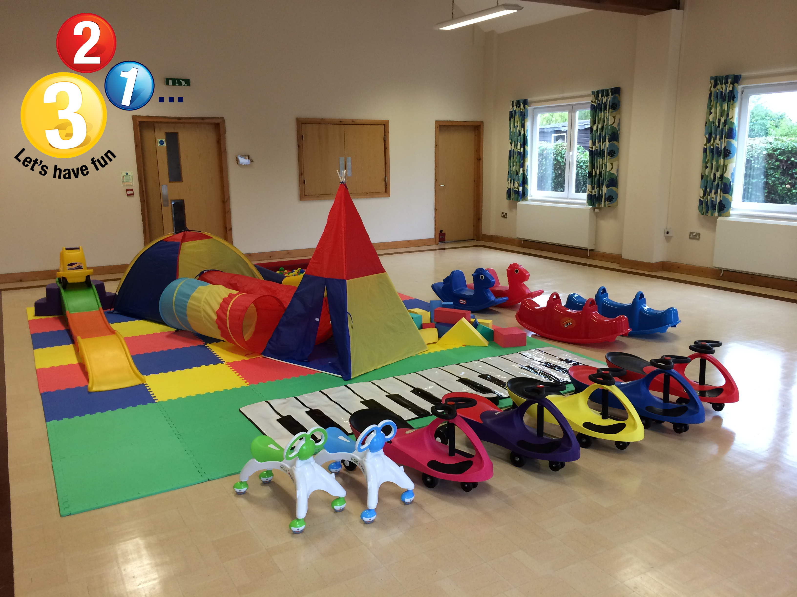 Soft Play Hire Oxfordshire