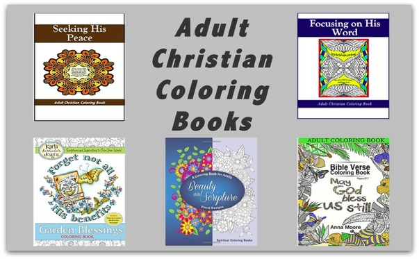 Adult Christian Coloring Book