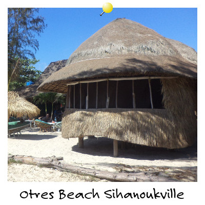 A Beach Bungalow on Otres Beach Sihanoukville Cambodia