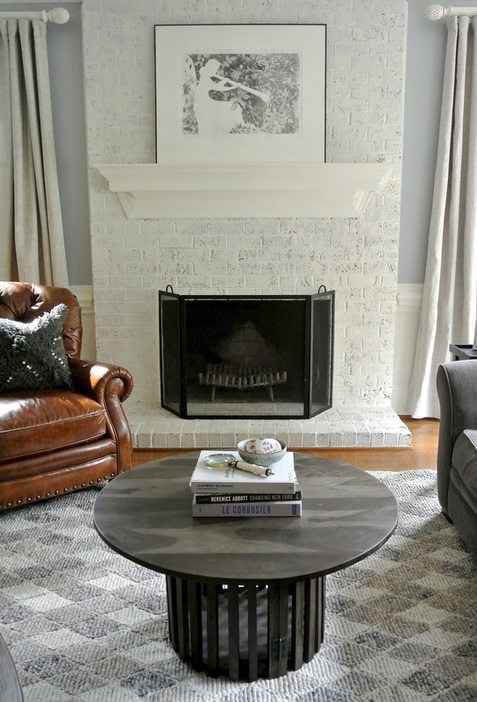 the redesign company fireplace