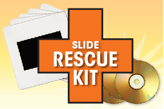 Get up to 400 slides digitally scanned to DVD at 4100dpi high resolution.