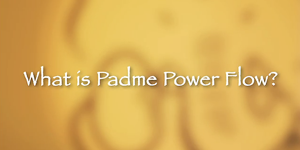 Padme Power Flow Video