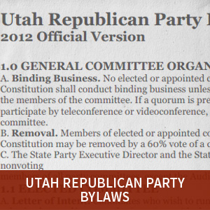 Utah GOP Bylaws