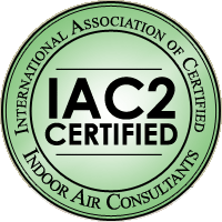 International Association of Certified Indoor Air Consultants Certified Logo - 360 Inspection Services