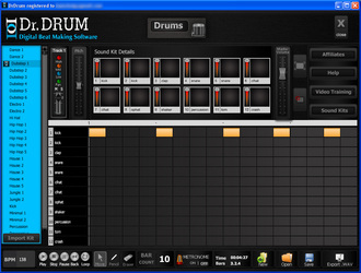 Dr. Drum beat making software