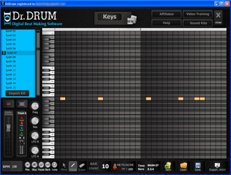 Dr. Drum Beat Making Software 4