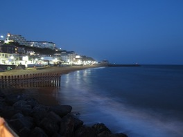 Ventnor by night from The Spyglass