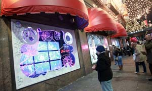 3DFusion Autostereoscopic 3D Video Wall