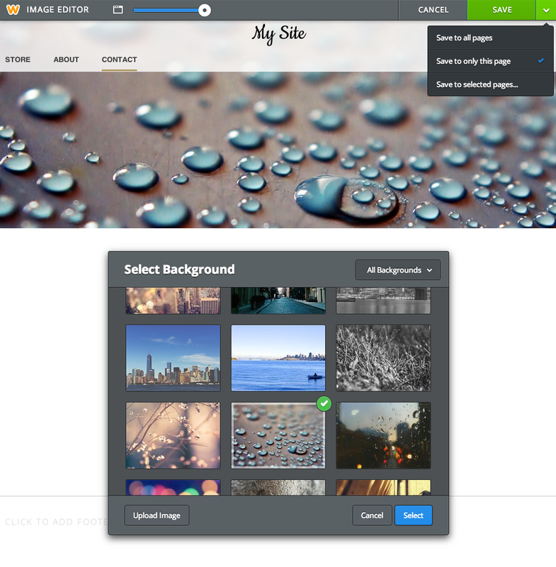 Weebly Image Editor