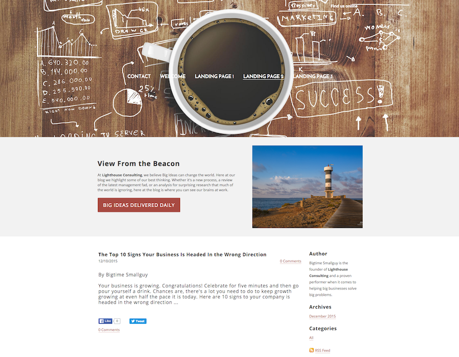 3 Landing Page Templates for Your Website
