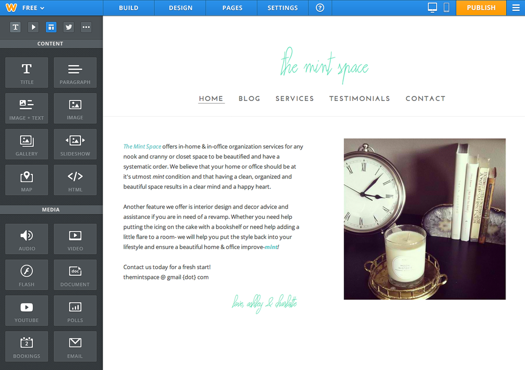 Weebly Blog - eCommerce, Design and Marketing Blog