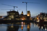 New Buildings on the Docks, Liverpool