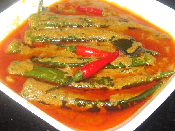 Curry Okra Recipe