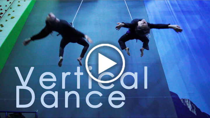 Vertical Dance training
