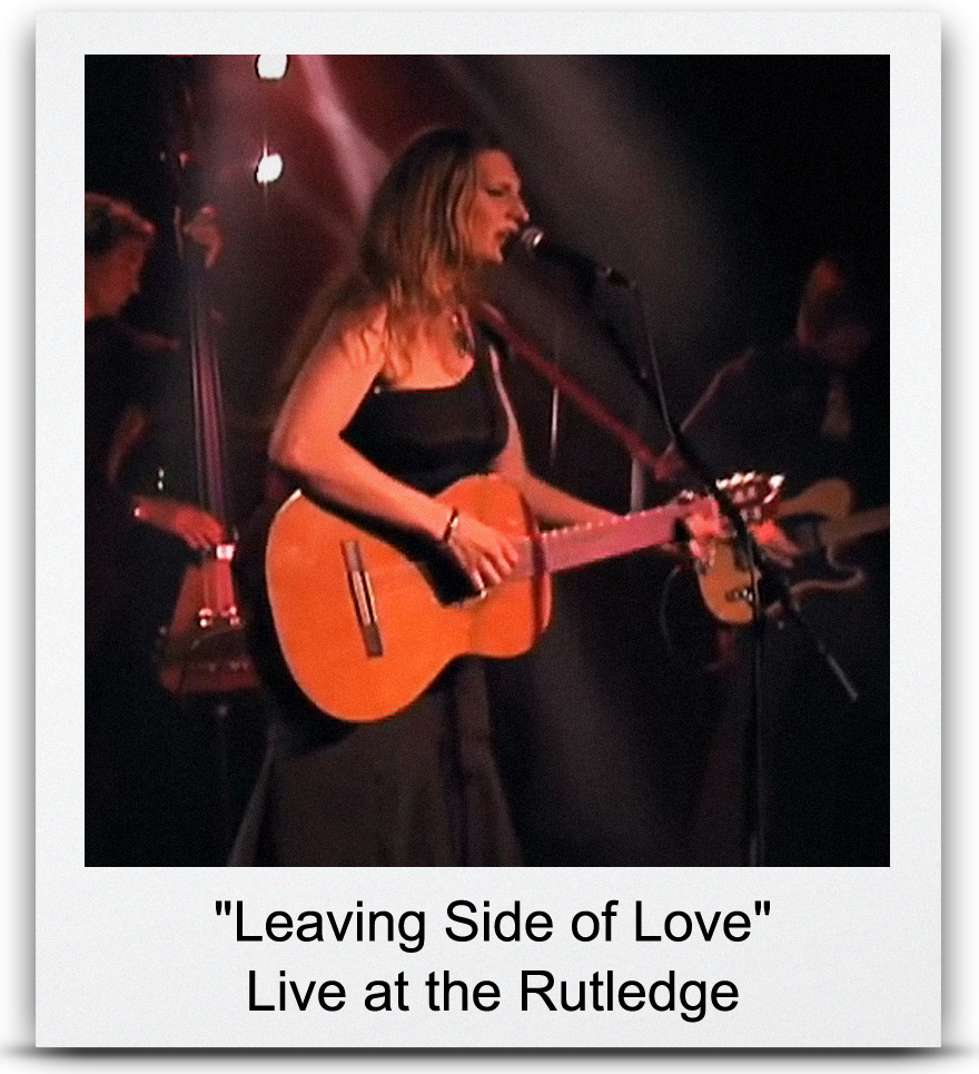 &#8220Leaving Side of Love&#8221 Live at the Rutledge