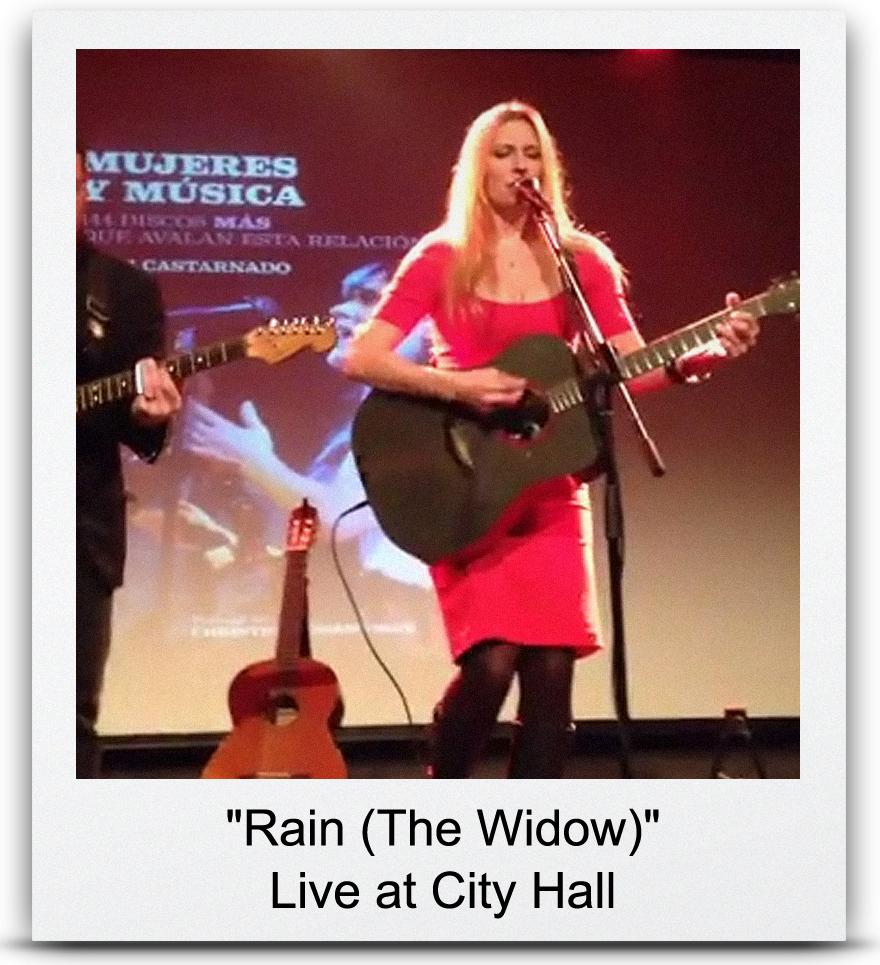 &#8220Rain (The Widow)&#8221 Live at City Hall