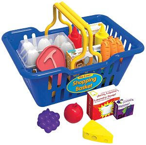 The Learning Journey Play and Learn Shopping Basket Playset