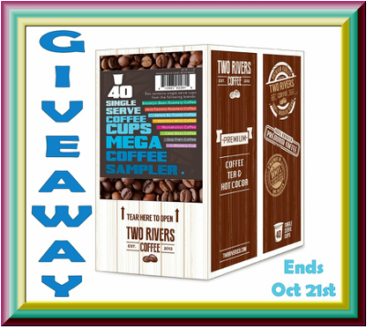 Enter To Win This Mega Coffee Sampler. Giveaway ends 10/21
