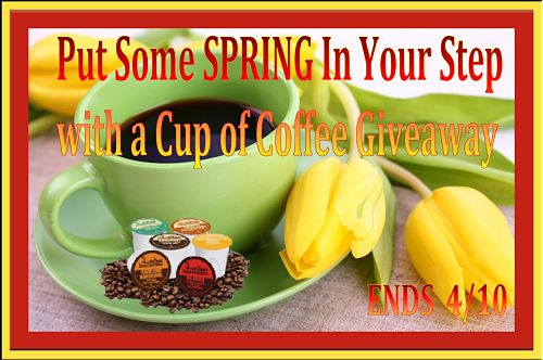Enter to #Win a 40 Ct Variety Box of Java Factory #KCup Coffee in the Put Some SPRING In Your Step with a Cup of #Coffee #Giveaway