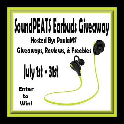 Find the SoundPEATS Earbuds #Giveaway & More on the #SummerDreams Hop that ends 7/31