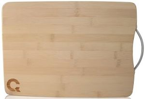Eco Bamboo Cutting Board with Handle